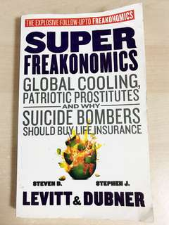 【Last Piece!】SUPERFREAKONOMICS