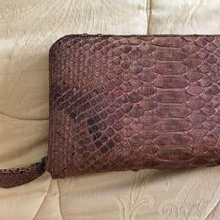 REPRICE - Snakeskin Wallet