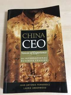 Business - China CEO