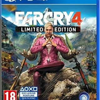 WTB/Looking for ps4 game Far Cry 4 & The Evil Within