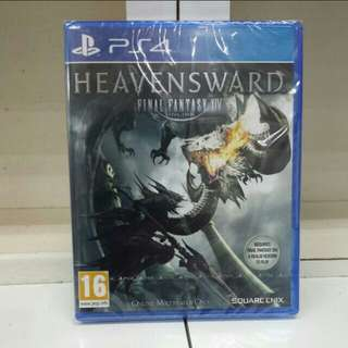 PS4 Final Fantasy XIV Heavensward Expansion