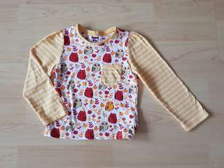 ⚘Mothercare⚘ long sleeve Tee [Size : 18-24M]
