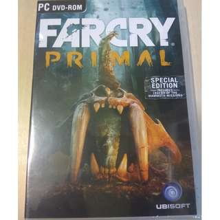 BNIB Sealed FARCRY PRIMAL Special Edition for Windows PC on UPLAY (includes Legend of the Mammoth missions)