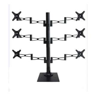 "6 Arms TV or Monitor floor Stand for monitor up to 27"" whatsapp:8778 1601"