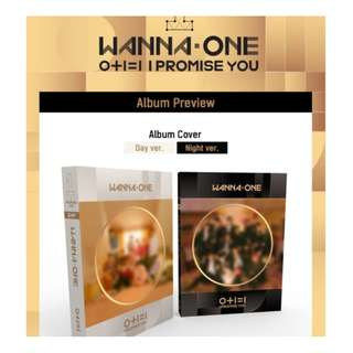[ ALBUM ONLY ] WANNA ONE 0+1=1 ( I PROMISE YOU )
