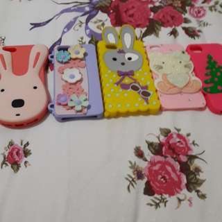 CASING IPHONE 5 ada 5pcs