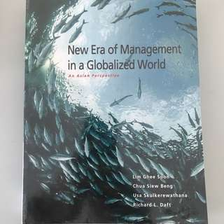 New Era Of Management In A Globalized World