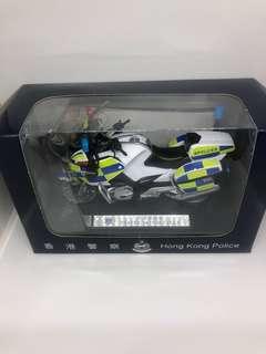 1:18香港警察交通寶馬電單車模型