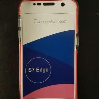 S7 edge silicon case