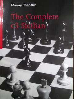 The Complete c3 Sicilian by Murray Chandler (Chess Book)