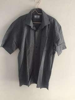 Crocodile Shirt Black
