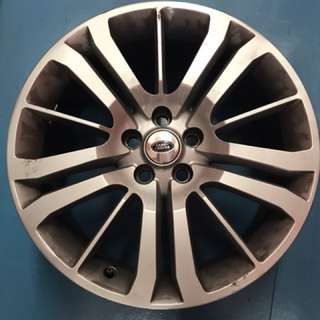 "Land Rover sports rims 20"" x 4 pieces"