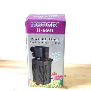 Hopar H-6601  2 In 1 Internal Filter For Fish Tank