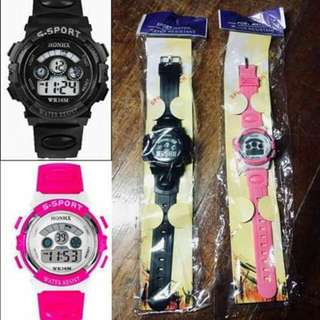 Flasheaz Sports Watches by Epiktec (1 Black, 1 Pink)