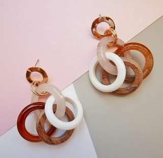 Scarlet | Hoop earrings