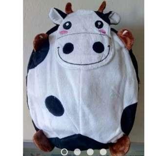 Kindergarten Preschool Cow Animal Backpack