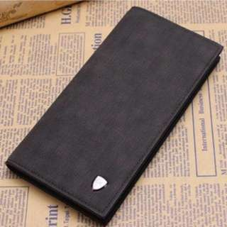 Instock men's long wallet with coin slot (Limited stock)