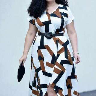 Elegant Plus Size Dress