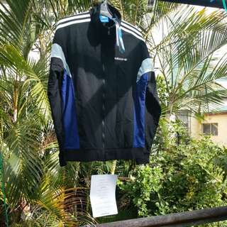 Authentic Adidas Track Jacket - tags on