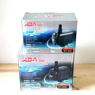 ADA WT-900 / 2000 Water Pump for Aquarium Fish Tank