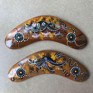 Australian Aboriginal Handmade Boomerang