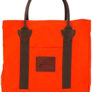 Junya Watanabe Man Tote Bag Orange