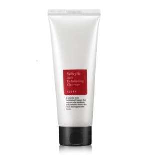 PROMO💥: 2 for $22 COSRX Salicylic ACID Exfoliating Cleanser (150ml)