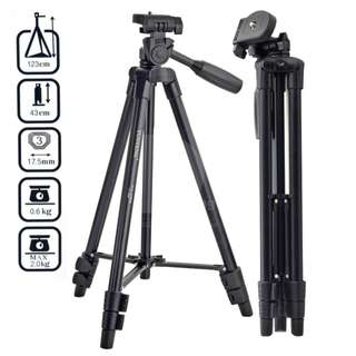 Yunteng VCT-520 Portable Camera Tripod Stand With Portable Bag