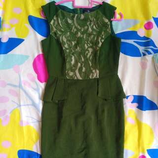 Doublewoot green size S