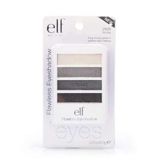 <FREE DELIVERY> ELF Eye Lips Face Flawless Shimmer Party Quad Eyeshadow - Smoky Shade