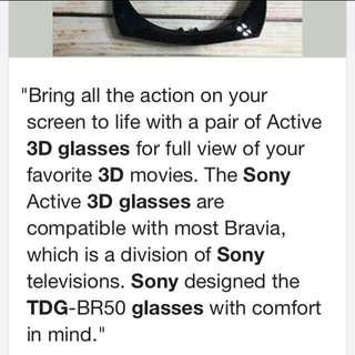 Sony original 3D glasses 2 buah