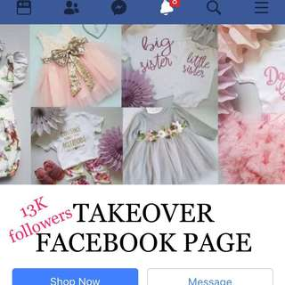 Takeover existing Facebook Page