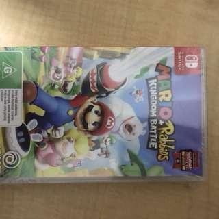 Mario + Rabbids Kingdom Battle Nintendo Switch Brand New Sealed