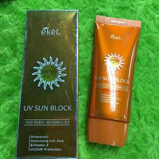 Ekel Aloe & Vitamin E Sun Block Cream Spf50 PA