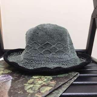 古著帽子 編織帽 a room model