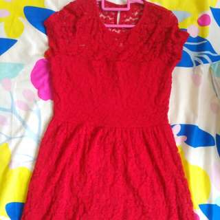 H&M red size S