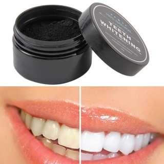 Organic charcoal teeth whitening(instock)