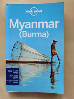 Lonely Planet Travel Guide: Myanmar