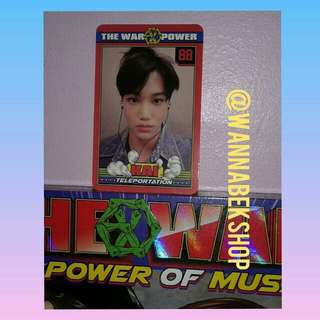 Exo Kai Power Photocard