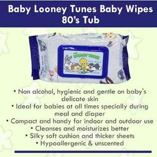 Baby Looney Tunes baby wipe
