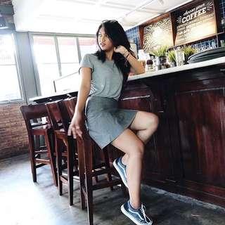 Miniskirt grey