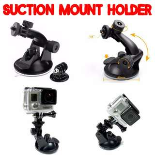 TGP019S Flexible Strong Suction Mount Holder for GoPro SJCAM Xiaomi Xiaoyi Yi Camera Car Bike