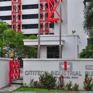 Cititech industrial building for rental