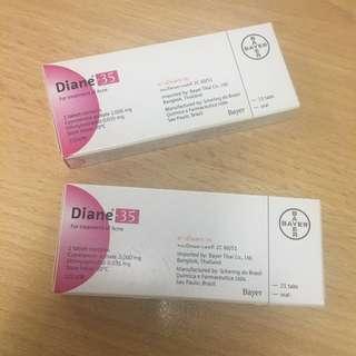Diane 35 pills