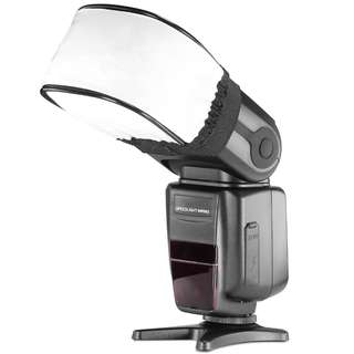Pxel AAFD1 Universal Flash Bounce Diffuser for Camera Flash Speedlight