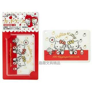 日本製 sanrio HelloKitty 証件套 八達通套 卡套