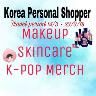 Korea personal shopper service