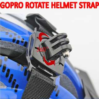 TGP063 Helmet Rotate Strap Head Belt Adjustable