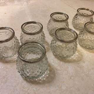 玻璃花瓶 婚後 物資 glass vase 連花 手搖扇