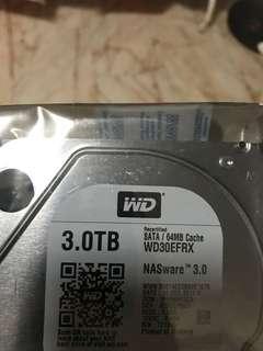 Recertified Western Digital 3.0TB hard drive